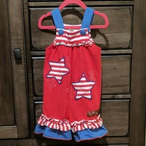2e6ef8d4f Millie Jay · 12 month 4th of July Girls Outfit